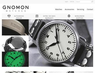 Thumbshot of Gnomonwatches.com