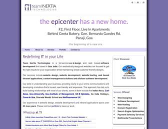 teaminertia.com screenshot