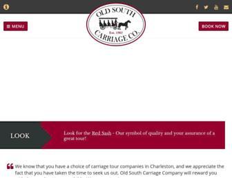 oldsouthcarriage.com screenshot