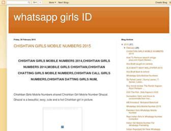 whatsappgirlsid.blogspot.com screenshot