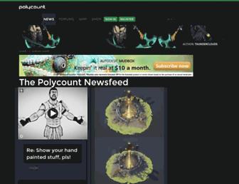 polycount.com screenshot
