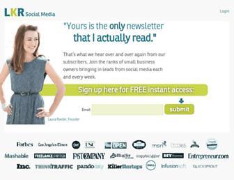 Thumbshot of Lkrsocialmedia.com
