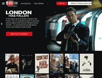 dvd.netflix.com screenshot