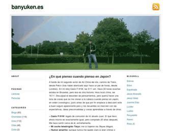 banyuken.es screenshot