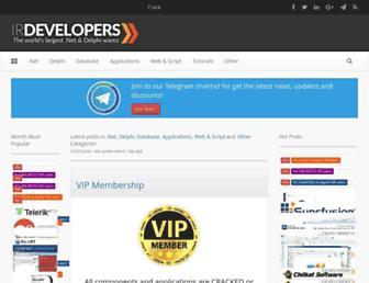 irdevelopers.com screenshot