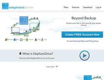 Thumbshot of Elephantdrive.com