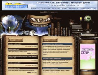 okultweb.cz screenshot