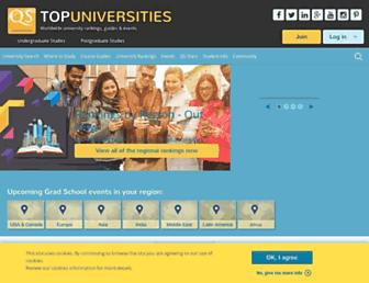 topuniversities.com screenshot