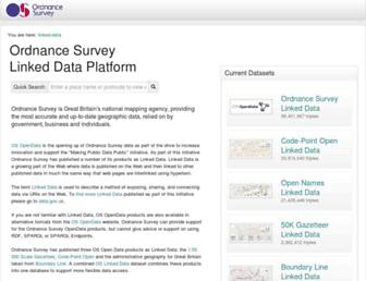 data.ordnancesurvey.co.uk screenshot