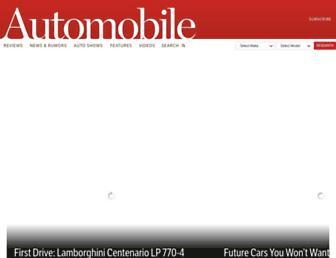 automobilemag.com screenshot