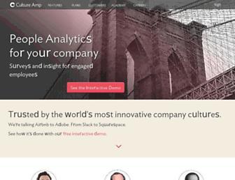 cultureamp.com screenshot