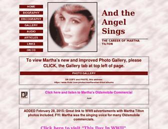 marthatilton.com screenshot