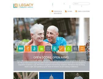 legacycommunityhealth.org screenshot