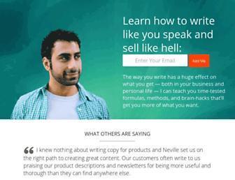 kopywritingkourse.com screenshot