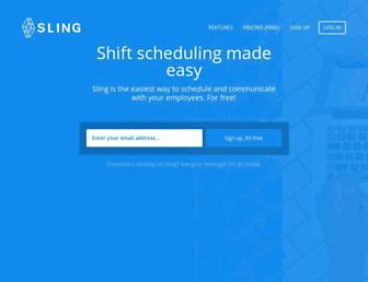 getsling.com screenshot