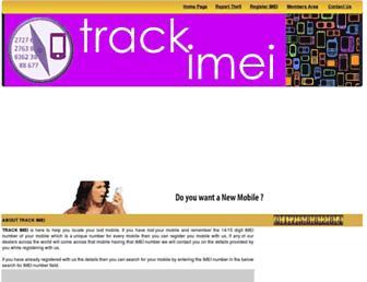 trackimei.com screenshot