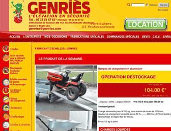 genries.com screenshot