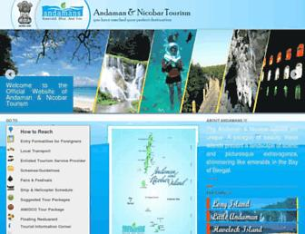 Thumbshot of Andamans.gov.in
