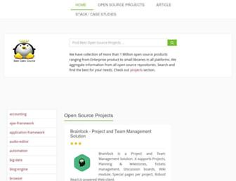 findbestopensource.com screenshot