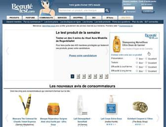 beaute-test.com screenshot