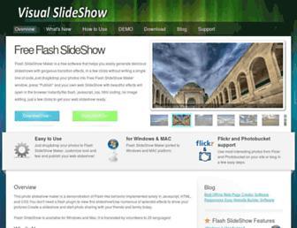 flashslideshow-maker.com screenshot