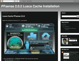 pfsenseaddict.blogspot.com screenshot