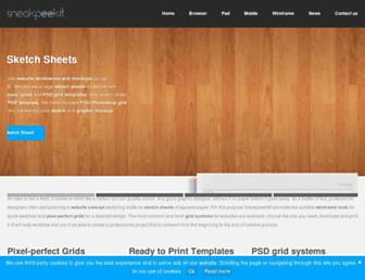 sneakpeekit.com screenshot