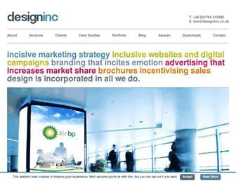 designinc.co.uk screenshot