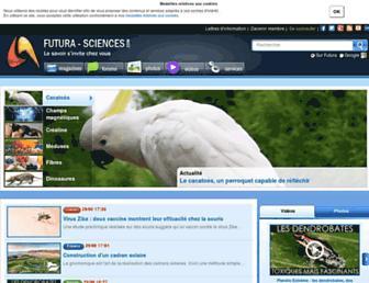 futura-sciences.com screenshot