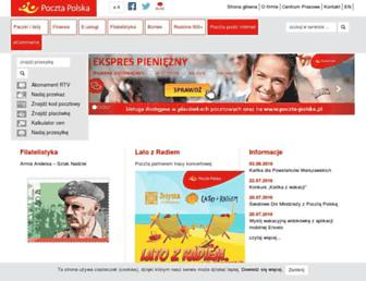 Thumbshot of Poczta-polska.pl