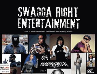 swaggarightentertainment.com screenshot