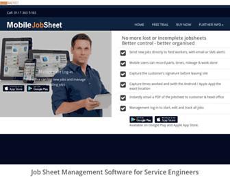 mobile-jobsheet.com screenshot