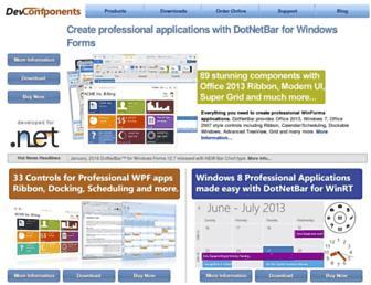devcomponents.com screenshot