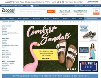 Thumbshot of Zappos.com