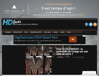 hdfever.fr screenshot