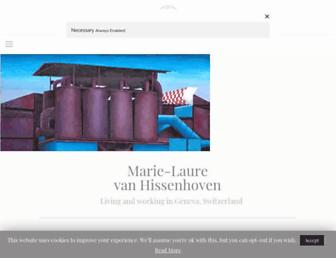 marielaurevanhissenhoven.com screenshot