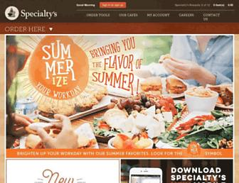 Thumbshot of Specialtys.com