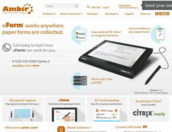ambir.com screenshot