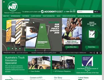 nti.com.au screenshot
