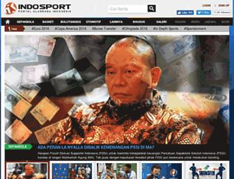 indosport.com screenshot