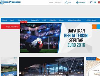 pekanbaru.tribunnews.com screenshot
