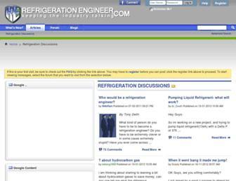 refrigeration-engineer.com screenshot