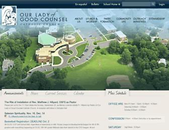 olgcva.org screenshot