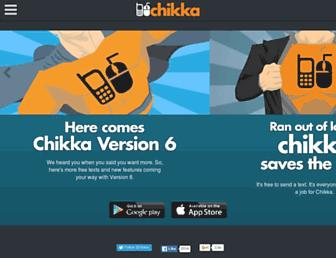 Thumbshot of Chikka.com