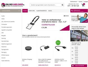 Thumbshot of Onlinekabelshop.nl