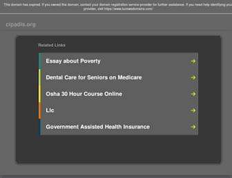 cipadis.org screenshot