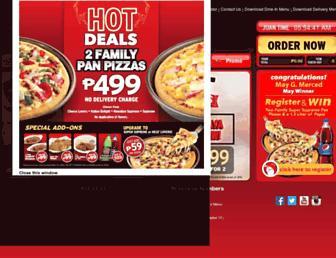 Thumbshot of Pizzahut.com.ph