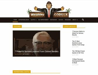 wealthygorilla.com screenshot