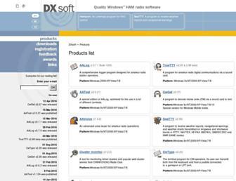 dxsoft.com screenshot