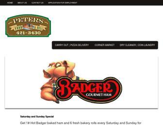 petersfoodanddeli.com screenshot